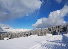 Neige Saint-Gervais-les-Bains 74170  Raquette