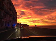 Ciel Nice 06000 Lever du soleil