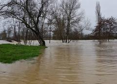 Pluie Montegut-Arros 32730 L Arros déborde