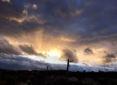 Ciel Neffies 34320 Couché de soleil