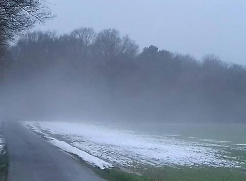 Fonte de la neige et vapeur d'eau