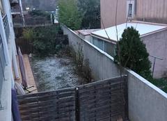 Neige Auriol 13390 Petite chute de neige