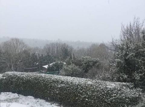 Neige à Rians