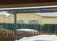 Neige Fos-sur-Mer 13270 La neige à Fos sur Mer