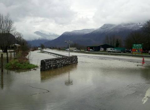 Nationales inondées