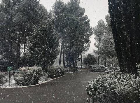 Neige 21 février