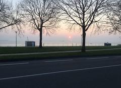 Froid Saint-Nazaire 44600 Un beau lever de soleil