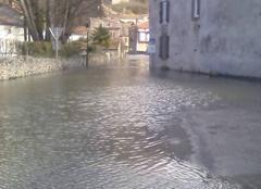 Pluie Galie 31510 GALIE sous les eaux