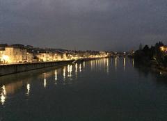 Froid Romans-sur-Isere 26100 Quais de nuit hier soir
