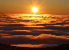 Ciel Olby 63210 Coucher de nuages