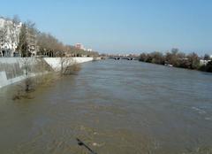 Pluie Toulouse 31300 Crue de la Garonne à Toulouse