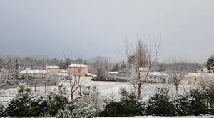 Neige Tourves 83170 Le Var sous la neige