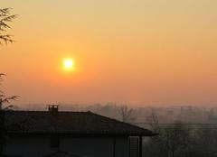 Nuages Saint-Lezer 65500 Ciel de ce Samedi 24 Février 2018 à 08 h 13 à St Lézer.
