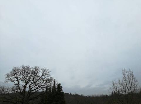 Nuages et pluie à St Étienne de l'Olm