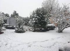 Neige Aix-en-Provence 13100 Le manteau blanc aixois