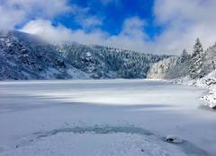 Neige Orbey 68370 Lac-blanc