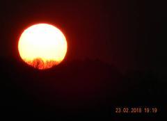 Ciel Castels 24220 Coucher de soleil