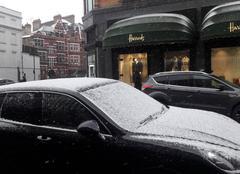 Neige Londres Londres averses de neige