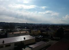 Ciel Metz 57070 Grand soleil avec un peu de nuage