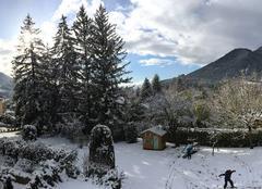 Neige Die 26150 Die sous la neige
