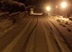 Neige Rutali 20239 Rutali sous la neige