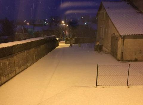 Neige à Verdun