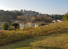 Froid Bouilhonnac 11800 Vue du château