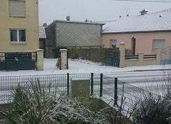 Neige Sainte-Marie-aux-Chenes 57255 Neige en Moselle et -6°c