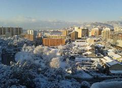 Neige Ajaccio 20000 Ajaccio sous la neige