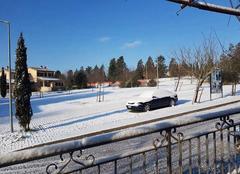 Neige Sienne 53100 Sienne sous la neige exceptionnel!