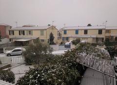 Neige Lezignan-Corbieres 11200 Neige abondante et rare à Lézignan