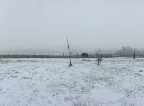 Il neige à Vic fezensac