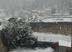 Neige Prats-de-Mollo-la-Preste 66230 Il neige déjà !