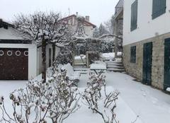 Climat Hendaye 64700 Hendaye sous la neige