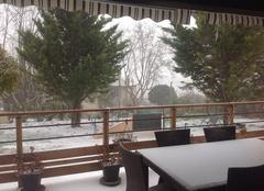 Neige Puyloubier 13114 Tempête de neige et froid sibérien !