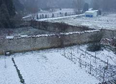 Neige Mauze-sur-le-Mignon 79210 Neige de fin février 2018