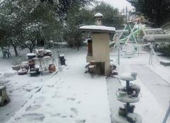 Neige Château-Arnoux-Saint-Auban 04160 Il neige