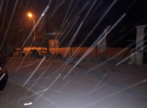 Vent et neige