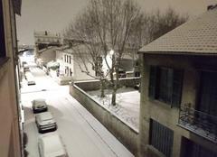 Neige Saint-Fons 69190 St-Fons sous la neige