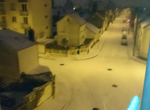 Neige à Rennes