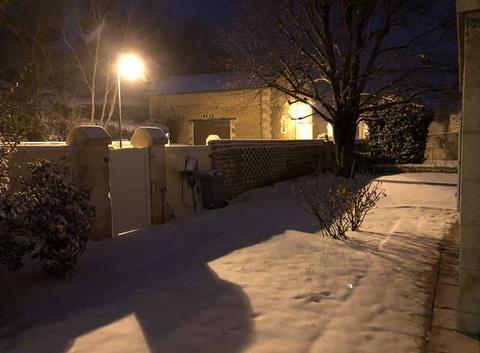 Neige à Vouillé