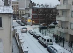 Neige Le Perreux-sur-Marne 94170 Le Perreux sous la neige