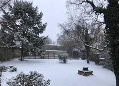 Neige Beaune 21200 Villas Fondet sous la neige