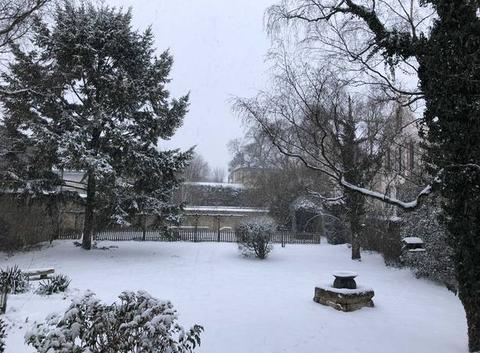 Villas Fondet sous la neige