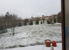 Froid Magny-le-Hongre 77700 Magny enneigé