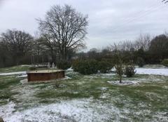 Neige Lys-Saint-Georges 36230 Dernière neige???