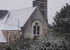 Neige Villaines-les-Rochers 37190 Le clocher
