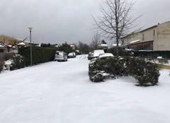 Neige Saint-Maximin-la-Sainte-Baume 83470 Saint maximin la sainte baume sous la neige