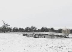 Neige Champagne-les-Marais 85450 Épisode neigeux du 28 Février