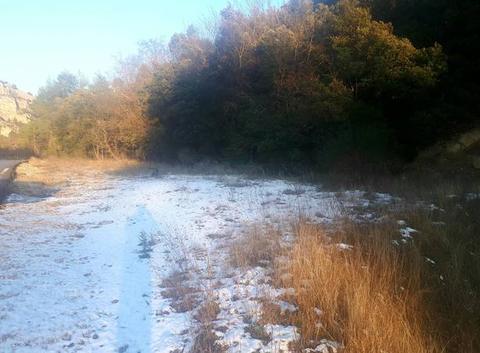 Un peu de Neige sur la route de jouques